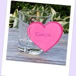 Ein Glas für Familie im Tagesplan
