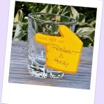 Ein Glas für Freizeit und Hobby im Tagesplan