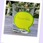 Ein Glas für Sonstiges im Tagesplan