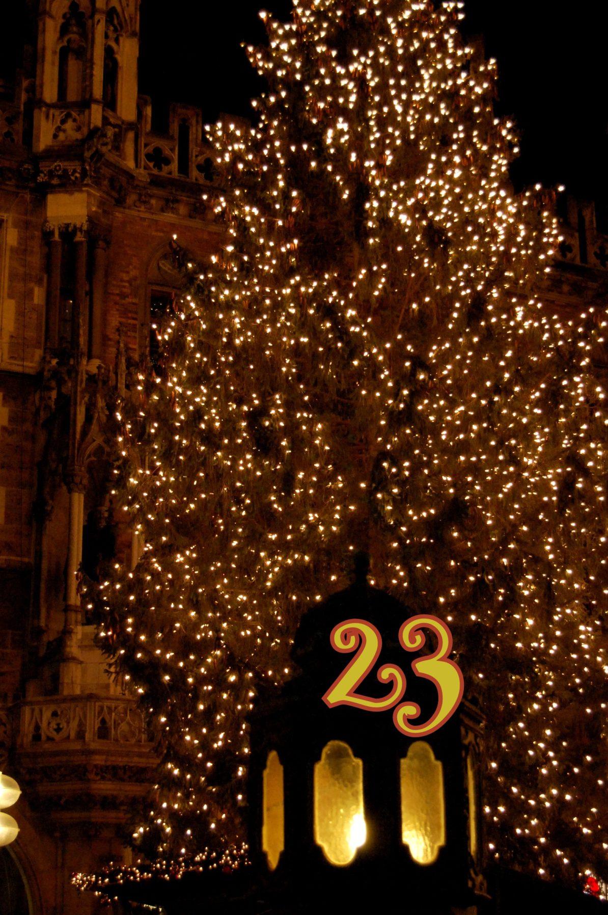 23. Dezember - Adventskalender